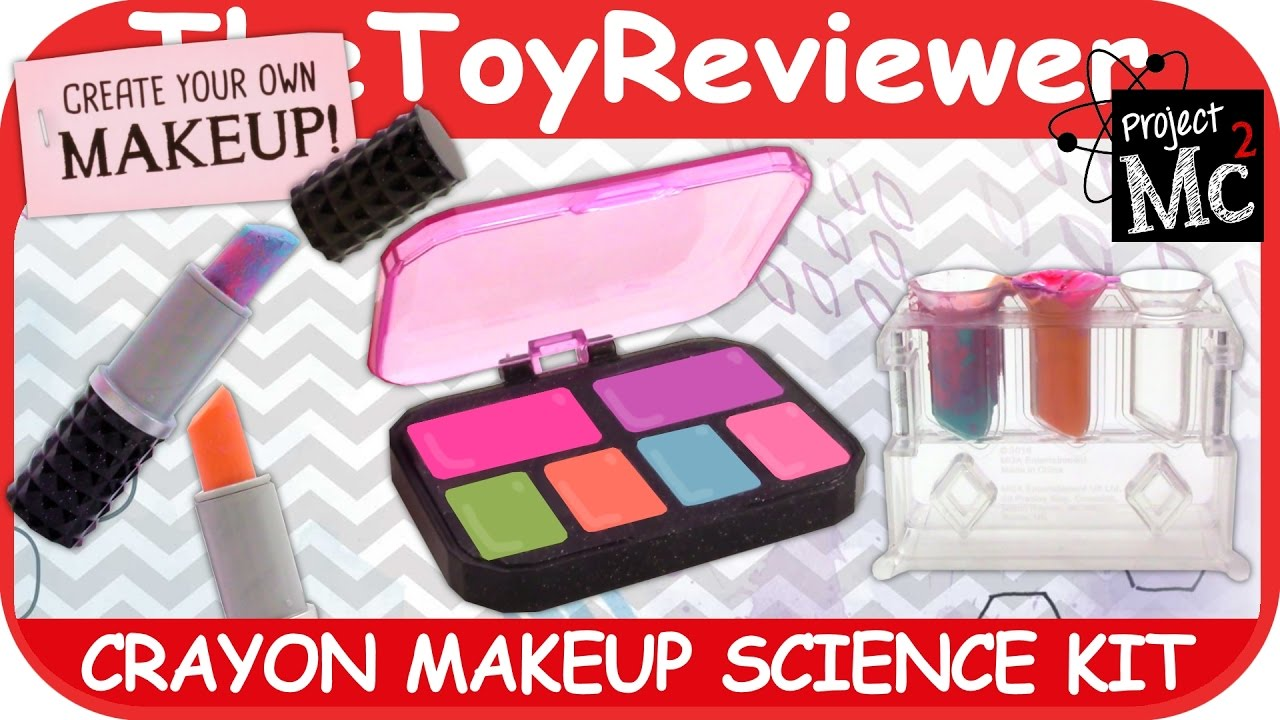 project mc2 crayon makeup kit instructions