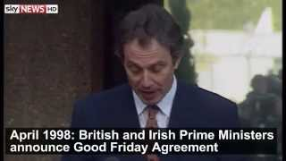 Good Friday Agreement: April 1998