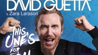 David Guetta Ft. Zara Larsson - This One's For You (House Of Labs Drums Mix)