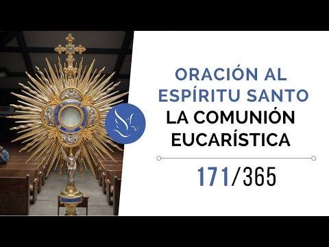 Oración al Espíritu Santo – La comunión eucarística