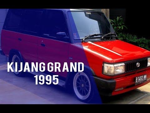 Grand Kijang Modification Results Year 1995 ~ Car Make Sense of Luxury Cars