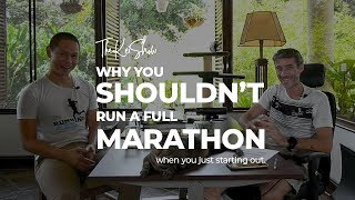 Why you shouldn't run a marathon ...