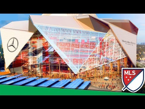 Every Single MLS Stadium In The  2017 Season!