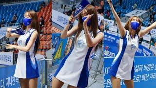 [세로]201119 손지해 치어리더 응원 /삼성화재 블…