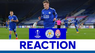 'We Played Some Good Football' - Harvey Barnes   Leicester City 3 Zorya Luhansk 0