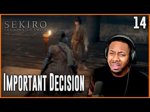 sekiro protect kuro or obey the iron code