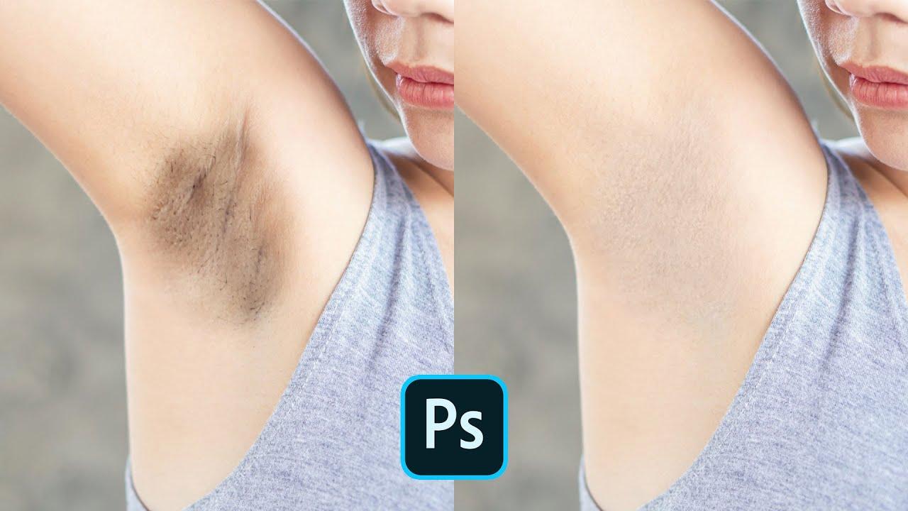 Xử Lý Vùng Da Dưới Cánh Tay Bằng Photoshop | Thùy Uyên