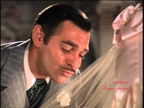 A tribute to Clark Gable as Rhett Butler