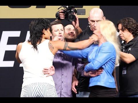 UFC Summer Kickoff Press Conference staredowns