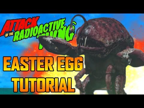 FULL ATTACK OF THE RADIOACTIVE THING EASTER EGG TUTORIAL GUIDE!!!  INFINITE WARFARE ZOMBIES
