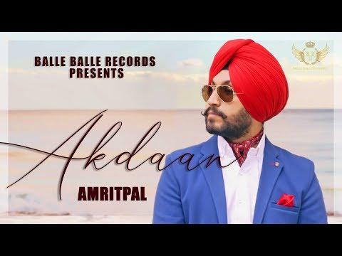 Akdaan -AMRITPAL(Official VIDEO)LATEST punjabi songs 2019- BALLEBALLERECORDS |New Punjabi Songs2019