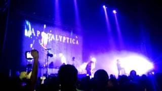 Apocalyptica I don't care 6dic2016 Monterrey