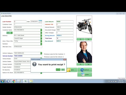 Auto Finance Software Demo