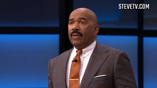Steve Harvey Tries To... Than She Does This.... (Steve & Dr. Phil Tv Show)