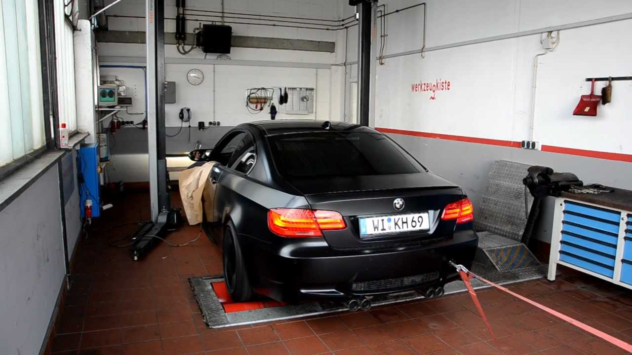 BMW M3 Frozen Black Competition Package 2011 M Performance Exhaust ...