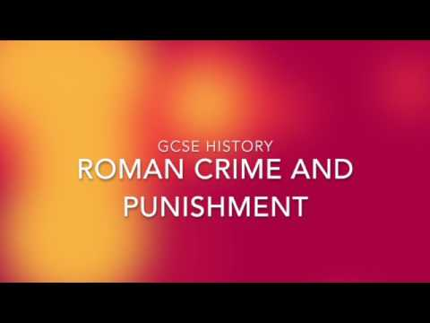 roman crimes and their punishments