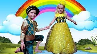 Anabella vrea rochie de printesa pentru bal | Video for kids | Anabella Show