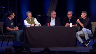 Video God On Trial Conference - Q&A: John Lennox, Mark Mittelberg, Paul Copan, & Bobby Conway download MP3, 3GP, MP4, WEBM, AVI, FLV Juli 2018