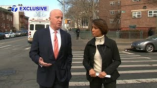 Sade Baderinwa walks NYC's most dangerous street with the NYPD Commissioner