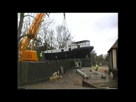 Launching our Barge 2005