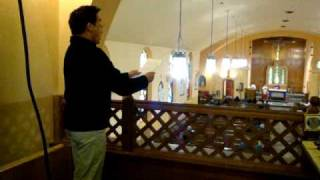 Agnus Dei by Bizet sung by Julius Militante at St. Francis Xavier Catholic Church, Bronx, NY
