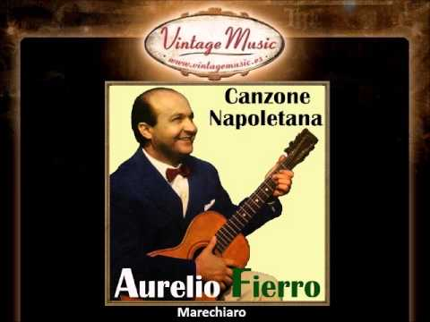 AURELIO FIERRO CD Vintage Italian Song. Canzone Napoletana , Marechiaro ....