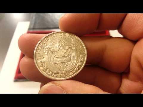 Info/LCS Buy: Republic Of Panama 925 Silver 1970 5 Balboas & 90% Silver Medio (Half) Balboas