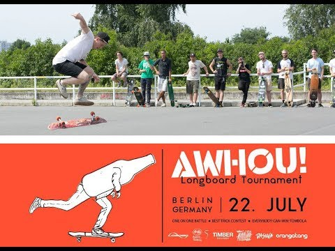 AWHOU! Longboard Tournament 2017 - Revisited