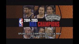 San Antonio Spurs Campeones NBA 2004-2005 (Subtitulado)