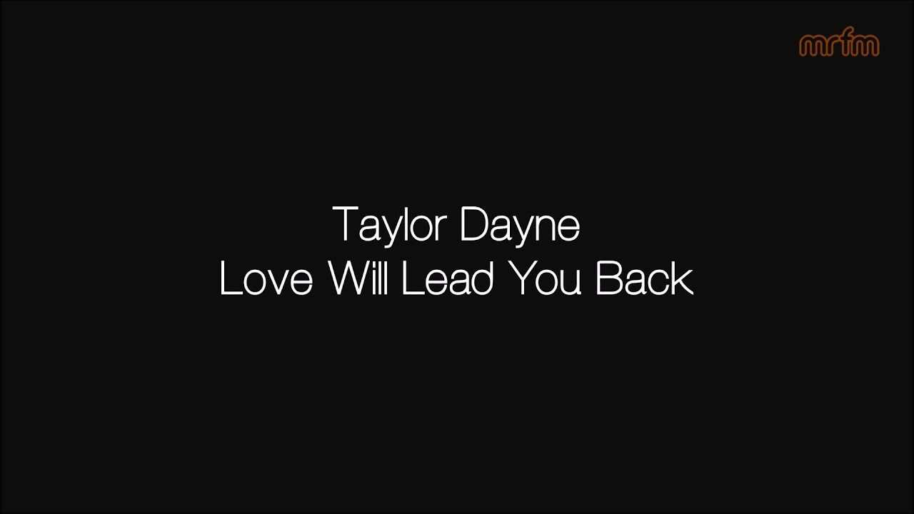 I will lead you back lyrics