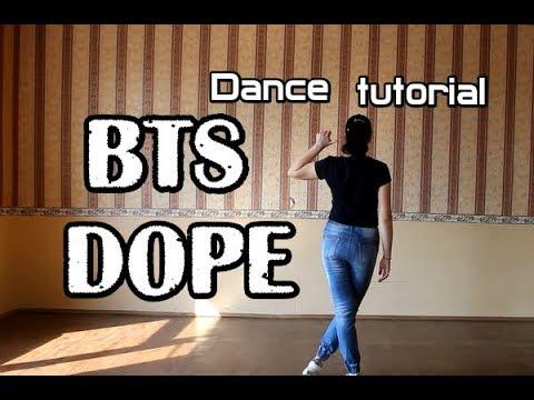 Видео урок танца bts dope