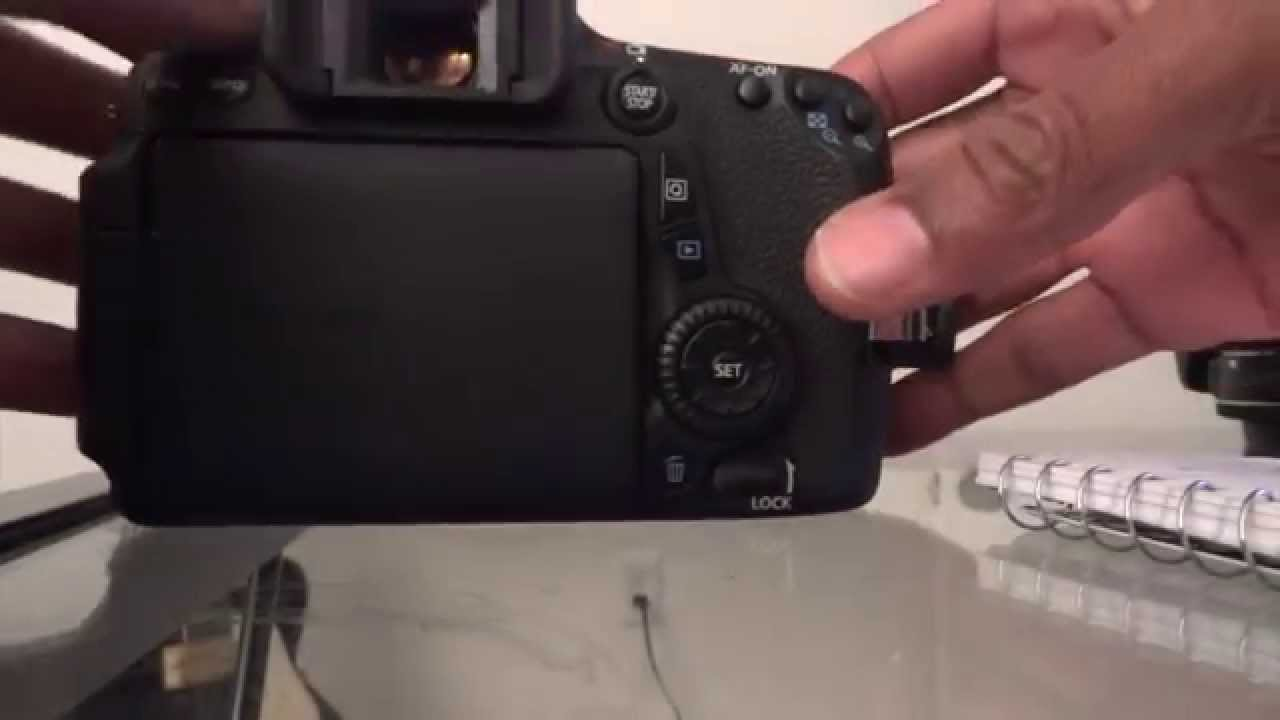 CANON EOS 70D WILL NOT POWER UP PART 1 of 2 (Solved on part 2)