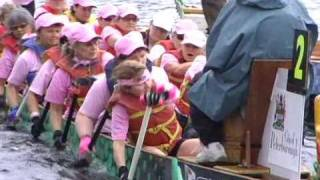 My Ontario-Dragon Boat Race - 2010 Peterborough Breast Cancer Festival.flv