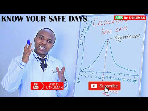 HOW TO CALCULATE YOUR SAFE DAYS, when is my ovulation, fertile day can i get pregnant in my periods