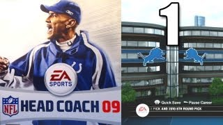 NFL Head Coach 09 - Part 1 It Begins