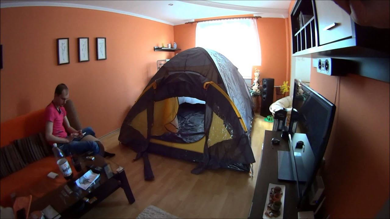 Crivit Double-roof Tent IAN 96716 & Crivit Double-roof Tent IAN 96716 - YouTube