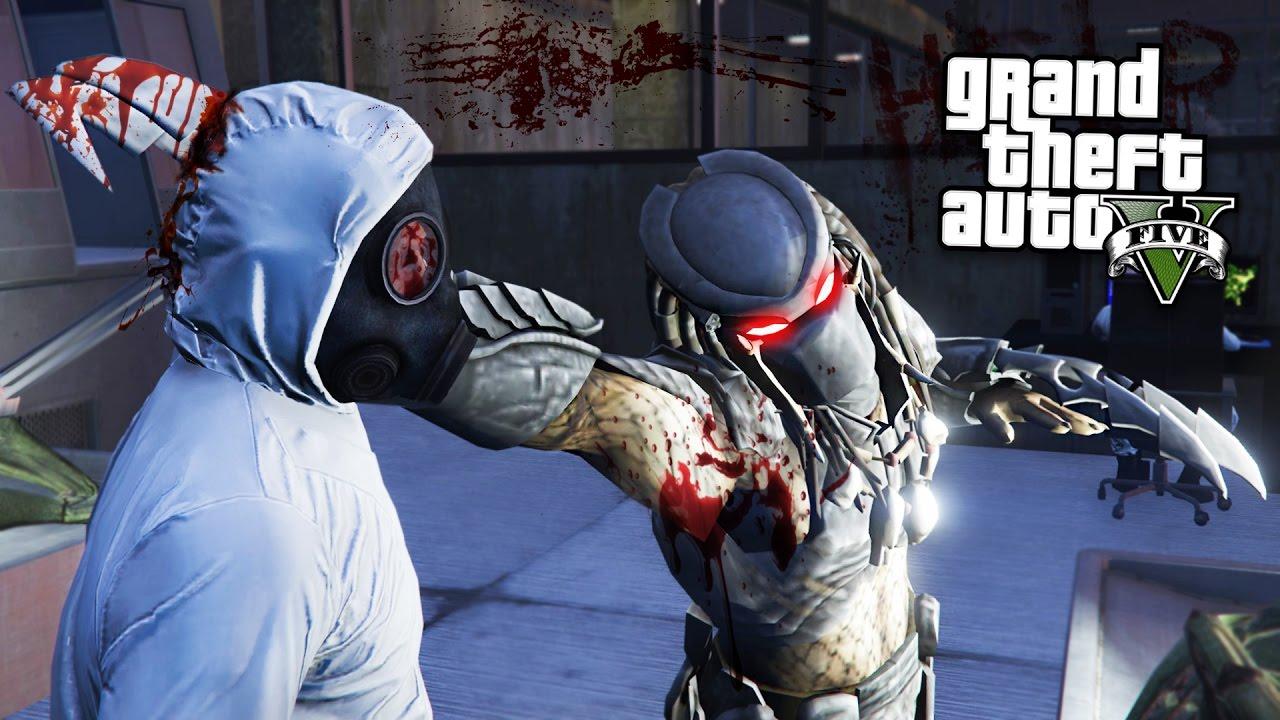 PREDATOR!! (GTA 5 Mods)