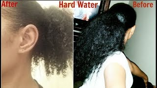 What Your Water Could Be Doing To Your Hair ( Hard Water)