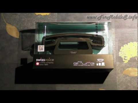 Unboxing di SwissVoice ePure BH01u - esclusiva mondiale !