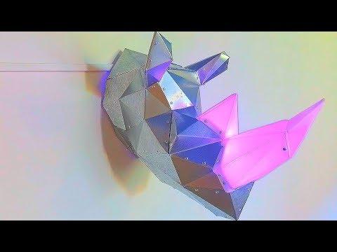 DIY Papercraft Rhino