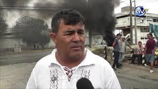 PESCADORES ARTESANALES REALIZAN PROTESTA EN SAN ANTONIO, 09 DE ENERO 2019