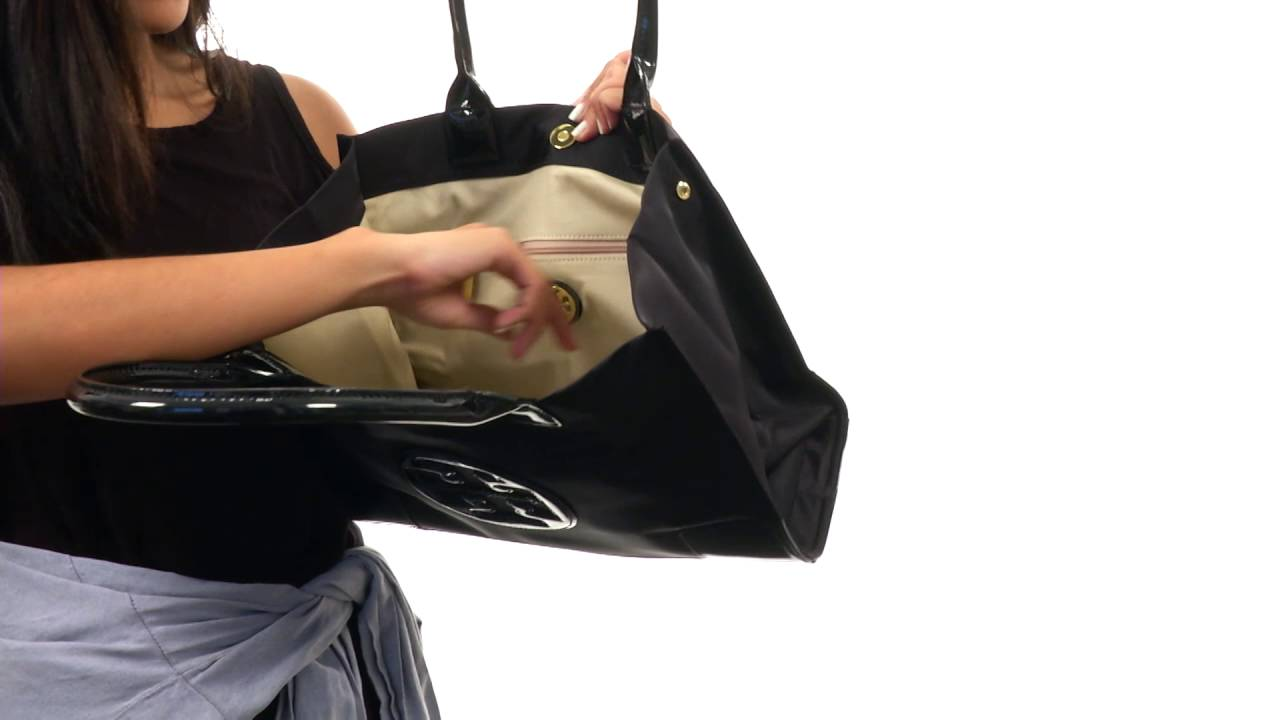 9e7b5ed312b Tory Burch Ella Mini Tote SKU 8814409 - YouTube