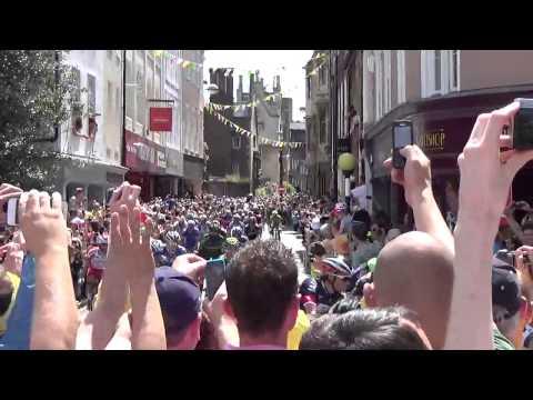 Le Tour de France in Cambridge 2014