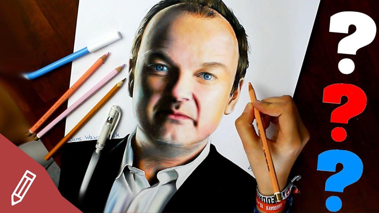 Drawing Jens Wawrczeck - DIE DREI FRAGEZEICHEN - PETER SHAW | Time ...