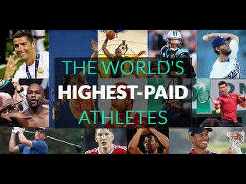 Top 10 highest paid athletes of 2016