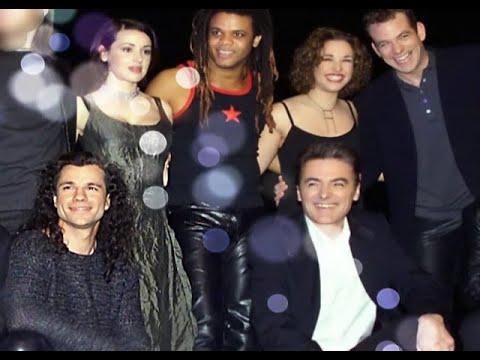 Bruno Pelletier - Belle (w Garou+Daniel Lavoie+Luck Mervil) @Millennium Concert With Lyrics