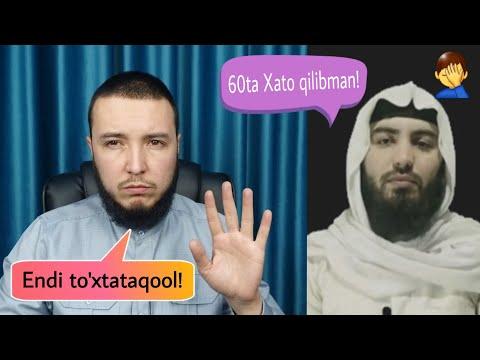 Abdulloh Zufar - Katta xatolari...