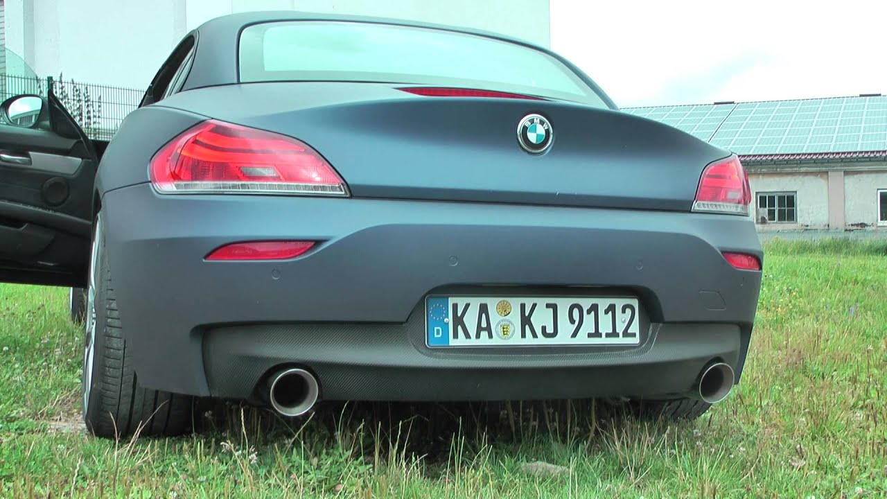 Fox Exhaust Bmw Z4 E89 35i Youtube