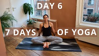 Hip Openers | Create Your Home Yoga Practice Routine // Day 6 of Seven Days of Yoga