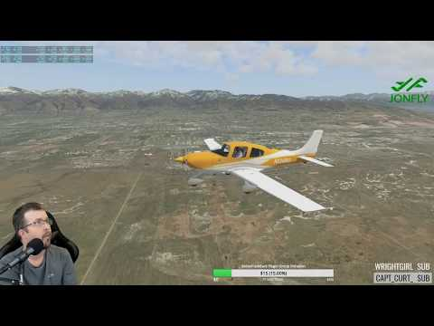 The New Cirrus SR20 2.5 by VflyteAir X-plane 11